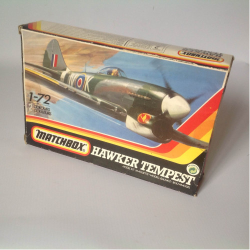 KIT HAWKER TEMPEST - MATCHBOX